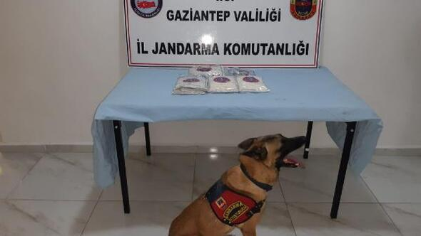 Gaziantepte 27 bin 555 uyuşturucu hap ele geçirildi