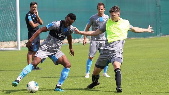 Trabzonspor, Gençlerbirliği maçı hazırlıklarını sürdürdü