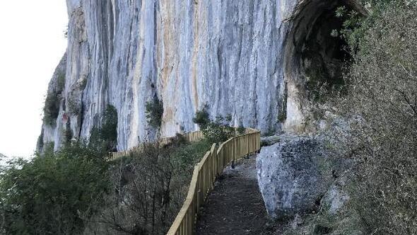 Küre Dağlarındaki mağara turizme kazandırıldı