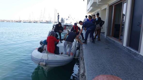 Çanakkalede 127 kaçak göçmen yakalandı
