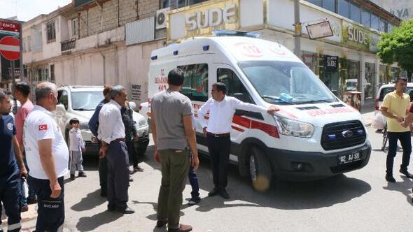 Terastan düşen çocuk, ağır yaralandı