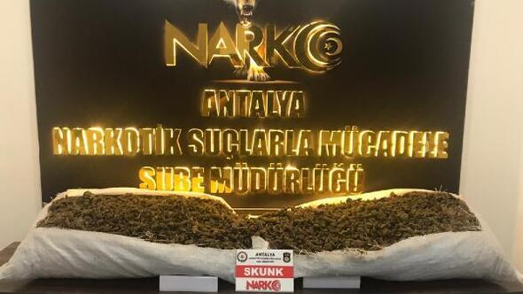 Antalyada uyuşturucu operasyonu