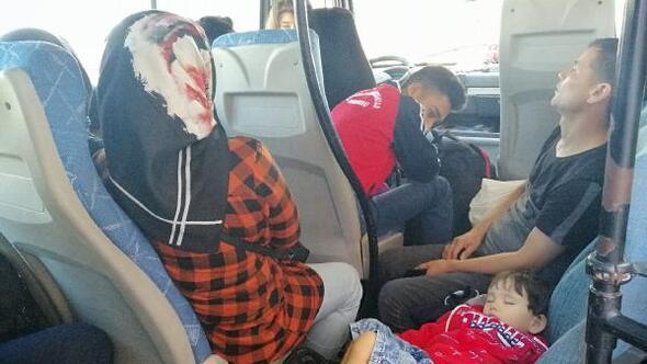 Çanakkale'de 144 kaçak göçmen yakalandı
