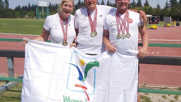 Manavgatın yabancı sporcularından madalya