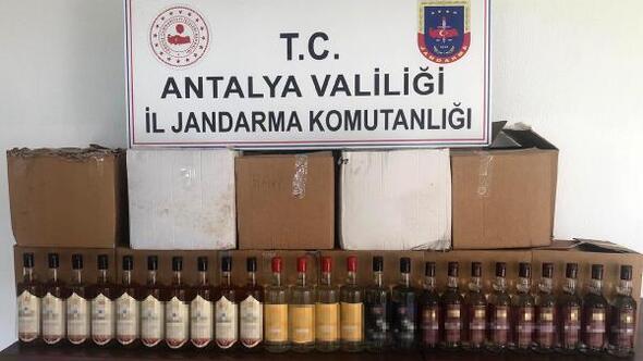 Manavgatta sahte içki operasyonu