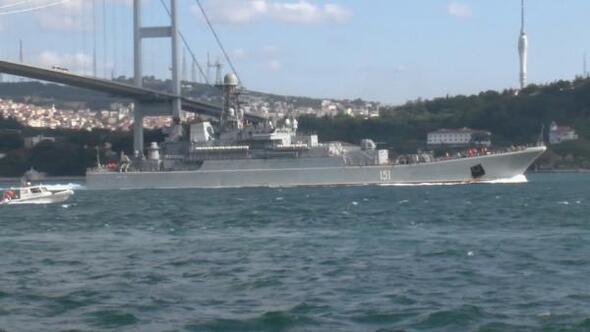 Rus savaş gemisi Akdenize ilerliyor