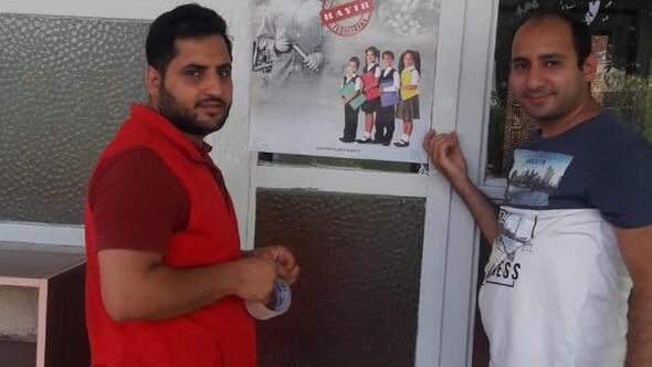 Çocuk işçiliğine karşı uyarı afişleri asıldı