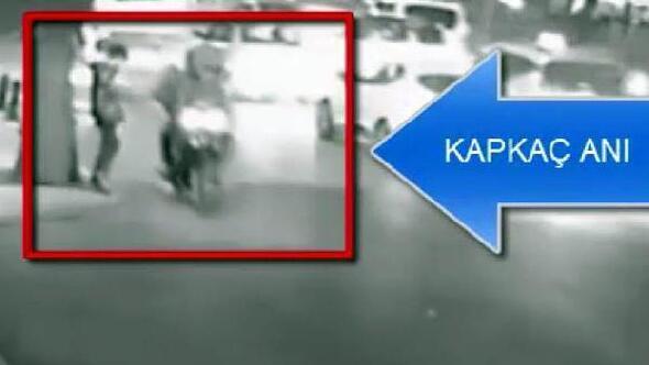 Motosikletli kapkaç şüphelileri yakalandı