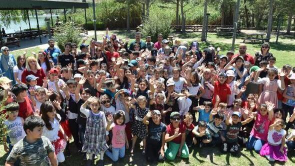 Sokakta Çalışan Çocuklar Merkezi üyelerine eğlenceli etkinlik