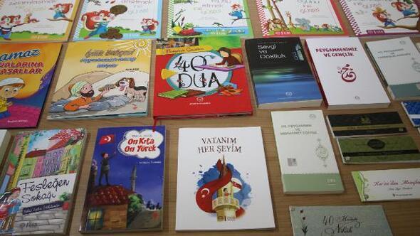 Hacılarda belediyeden öğrencilere kitap
