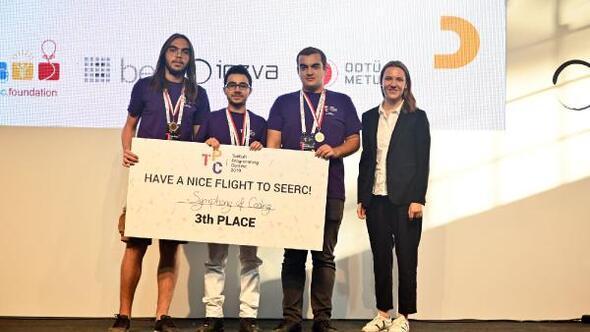 Ulusal Programlama Yarışmasının kazananları Avrupa yolcusu