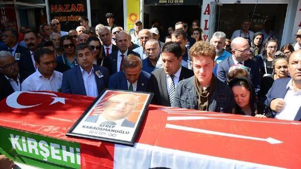 Kalp krizinden ölen CHP Kırşehir eski İl Başkanı toprağa verildi