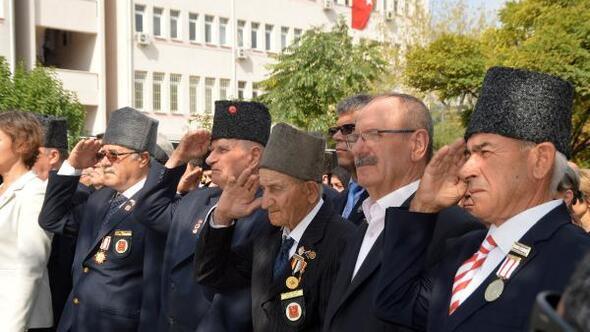 Keşanda, 19 Eylül Gaziler Günü kutlandı
