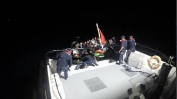 Bodrum açıklarında 113 kaçak göçmen yakalandı