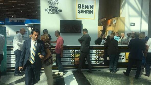 Akşehirin coğrafi işaretli ürünleri Ankarada tanıtıldı