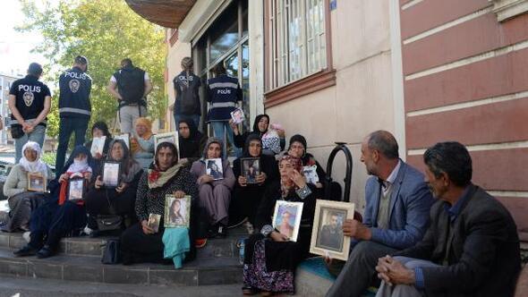 HDP önündeki eylemde 21inci gün