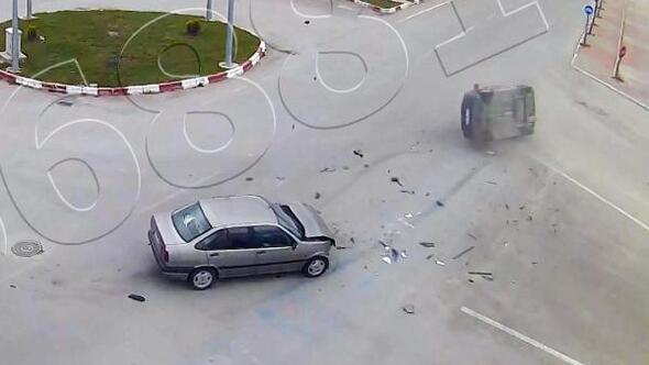 Afyonkarahisarda trafik kazaları MOBESEde