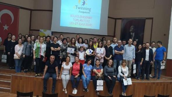 Zonguldak'ta eTwinning bilgilendirme toplantıları başladı
