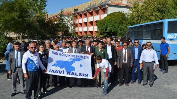 Adilcevaz'da Temiz Çevre, Temiz Gelecek kampanyası