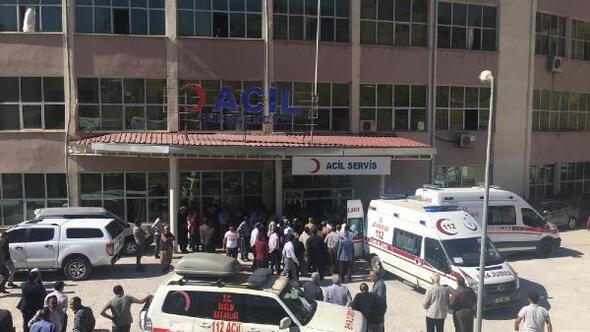 Derecikte öğrenci servisi şarampole yuvarlandı: 5i öğrenci 6 yaralı