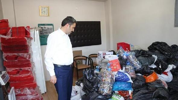 Tokatta atık pil toplama yarışması düzenleniyor