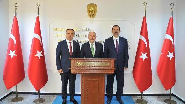 Kilis Valisi Soytürk ve Cumhuriyet Başsavcısı Durmuştan ziyaret