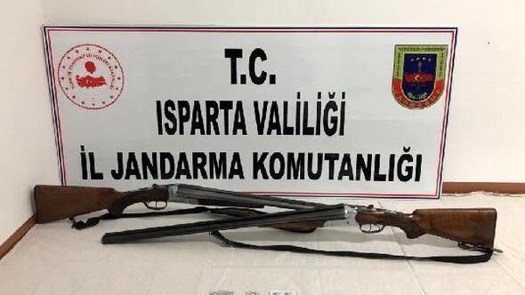 Ispartada uyuşturucu operasyonu: 2 tutuklama