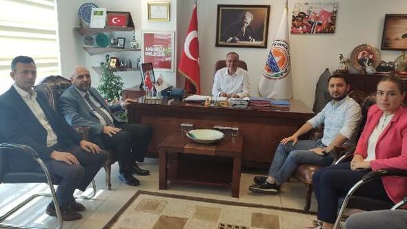 Bekir Aydın'dan Gemlik Belediyesine ziyaret