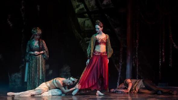 Sezonun ilk bale eseri Şehrazat