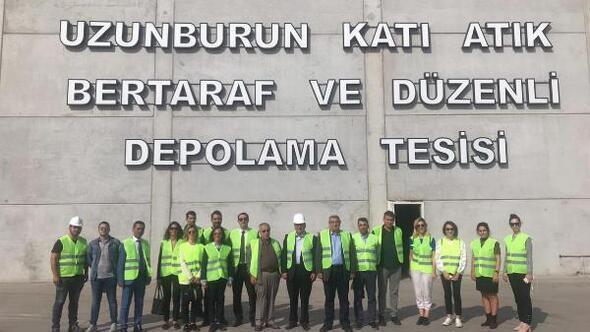Manisadaki katı atık bertaraf tesisine İzmirden inceleme