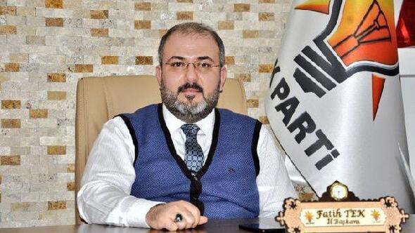 AK Parti Tunceli İl Başkanı Tekten Barış Pınarı açıklaması