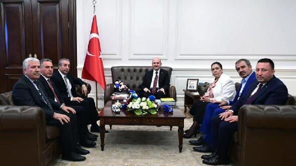 Beyoğlu, Ankarada temaslarda bulundu