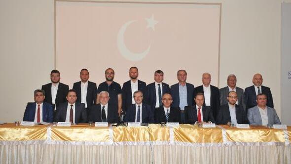 Konyada sivil toplum kuruluşlarından Barış Pınarı Harekatına destek