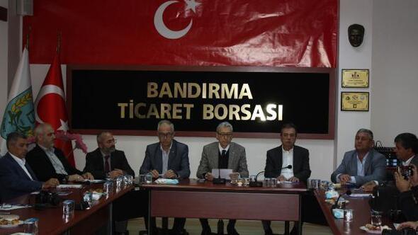 """Bandırma'dan """"Barış Pınarı Harekatı""""na tam destek"""