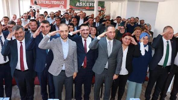 Belediye başkanlarından Barış Pınarı Harekatına destek