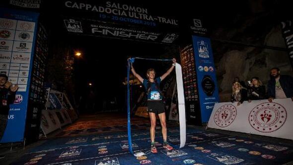 Salomon Cappadocia Ultra-Trail 2019da 119 kilometrelik parkurun birincisi Yannick Noel oldu