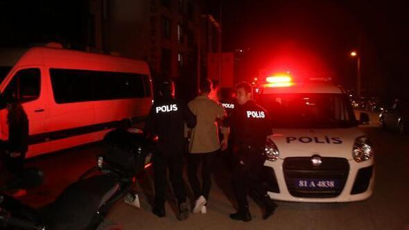 Polisten kaçtılar, uyuşturucuyla yakalandılar