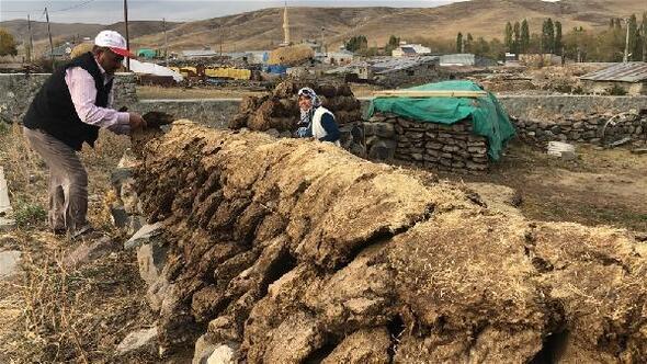 Karsın köylerinde kış hazırlığı