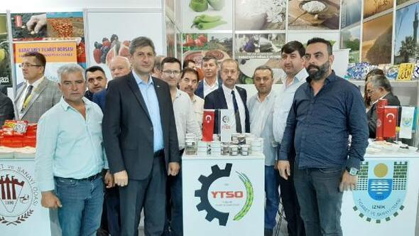 Yenişehir'de üretilen ürünler fuarda görücüye çıktı