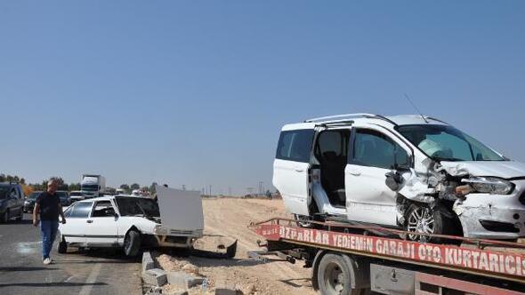 Gaziantepte kaza: 3 yaralı
