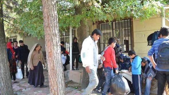 Kaçak göçmenleri, İstanbul diye Batmanda indirdiler