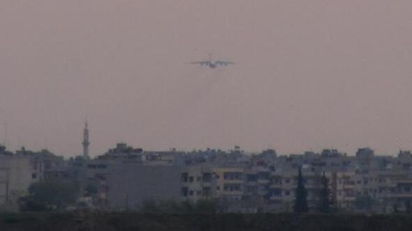 Kamışlıda Rus uçağı hareketliliği sürüyor