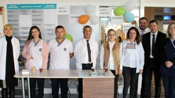 Dinarda Hasta Hakları Günü etkinlikleri