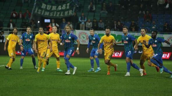 Çaykur Rizespor - MKE Ankaragücü: 2-0