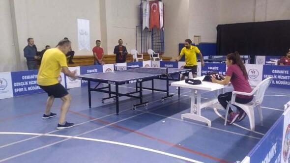 Cumhuriyet Bayramı masa tenisi turnuvası
