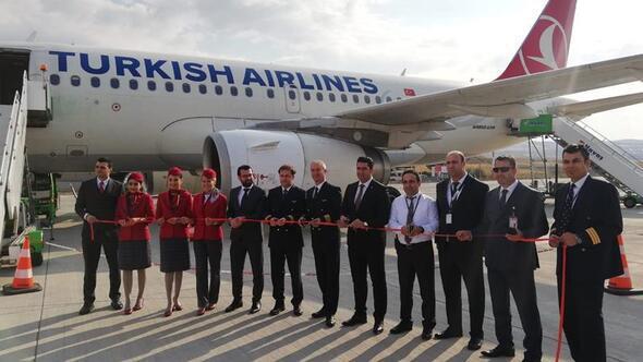 Ankara-Siirt uçuşları başladı