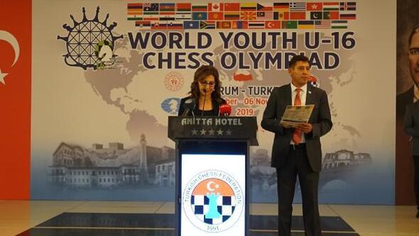 Dünya 16 Yaş Altı Satranç Olimpiyatları, Çorum'da başladı