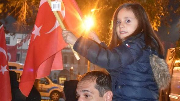 Sivasta Fener Alayı ve Cumhuriyet Yürüyüşü