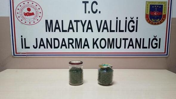 Malatyada uyuşturu madde operasyonu: 1 tutuklama