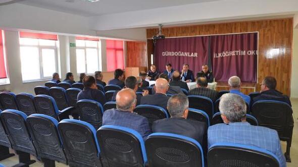 Hacılarda Huzur ve Güvenlik toplantısı